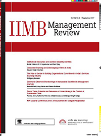 IMB Management Review - IMR | Indian Institute of Management